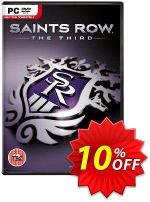 Saints Row The Third PC discount coupon Saints Row The Third PC Deal 2021 CDkeys - Saints Row The Third PC Exclusive Sale offer for iVoicesoft