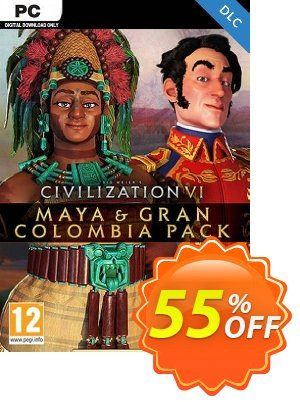 Sid Meier's Civilization VI - Maya & Gran Colombia Pack PC - DLC discount coupon Sid Meier's Civilization VI - Maya & Gran Colombia Pack PC - DLC Deal 2021 CDkeys - Sid Meier's Civilization VI - Maya & Gran Colombia Pack PC - DLC Exclusive Sale offer for iVoicesoft
