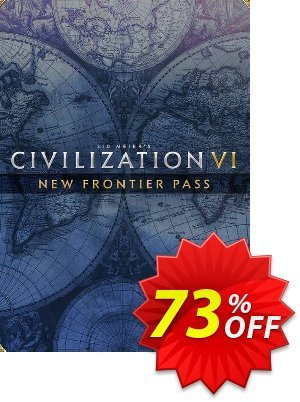 Sid Meier's: Civilization VI - New Frontier Pass PC - DLC (WW) discount coupon Sid Meier's: Civilization VI - New Frontier Pass PC - DLC (WW) Deal 2021 CDkeys - Sid Meier's: Civilization VI - New Frontier Pass PC - DLC (WW) Exclusive Sale offer for iVoicesoft