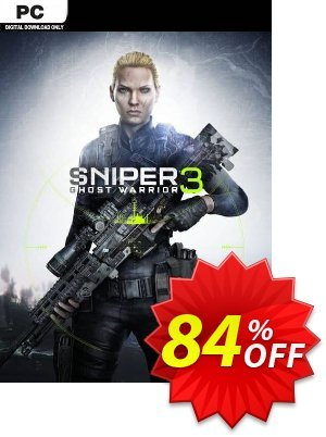 Sniper Ghost Warrior 3 PC discount coupon Sniper Ghost Warrior 3 PC Deal 2021 CDkeys - Sniper Ghost Warrior 3 PC Exclusive Sale offer for iVoicesoft