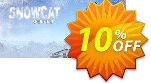 Snowcat Simulator PC discount coupon Snowcat Simulator PC Deal 2021 CDkeys - Snowcat Simulator PC Exclusive Sale offer for iVoicesoft
