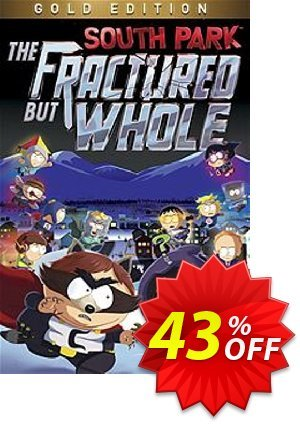 South Park The Fractured but Whole Gold Edition PC (US) discount coupon South Park The Fractured but Whole Gold Edition PC (US) Deal 2021 CDkeys - South Park The Fractured but Whole Gold Edition PC (US) Exclusive Sale offer for iVoicesoft