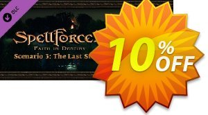 SpellForce 2  Faith in Destiny Scenario 3 The Last Stand PC discount coupon SpellForce 2  Faith in Destiny Scenario 3 The Last Stand PC Deal 2021 CDkeys - SpellForce 2  Faith in Destiny Scenario 3 The Last Stand PC Exclusive Sale offer for iVoicesoft