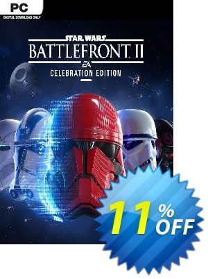Star Wars Battlefront II 2 - Celebration Edition PC discount coupon Star Wars Battlefront II 2 - Celebration Edition PC Deal 2021 CDkeys - Star Wars Battlefront II 2 - Celebration Edition PC Exclusive Sale offer for iVoicesoft