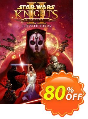 Star Wars Knights of the Old Republic II - The Sith Lords PC discount coupon Star Wars Knights of the Old Republic II - The Sith Lords PC Deal 2021 CDkeys - Star Wars Knights of the Old Republic II - The Sith Lords PC Exclusive Sale offer for iVoicesoft