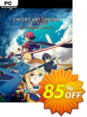 SWORD ART ONLINE Alicization Lycoris PC discount coupon SWORD ART ONLINE Alicization Lycoris PC Deal 2021 CDkeys - SWORD ART ONLINE Alicization Lycoris PC Exclusive Sale offer for iVoicesoft