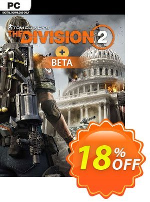 Tom Clancys The Division 2 PC + Beta discount coupon Tom Clancys The Division 2 PC + Beta Deal 2021 CDkeys - Tom Clancys The Division 2 PC + Beta Exclusive Sale offer for iVoicesoft