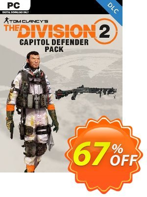 Tom Clancys The Division 2 PC - Capitol Defender Pack DLC discount coupon Tom Clancys The Division 2 PC - Capitol Defender Pack DLC Deal 2021 CDkeys - Tom Clancys The Division 2 PC - Capitol Defender Pack DLC Exclusive Sale offer for iVoicesoft