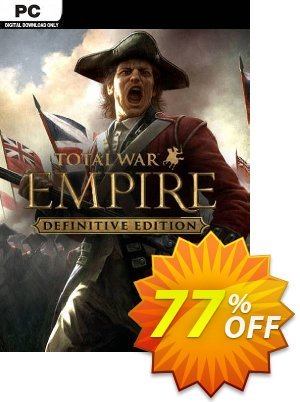 Total War: Empire - Definitive Edition PC (EU) discount coupon Total War: Empire - Definitive Edition PC (EU) Deal 2021 CDkeys - Total War: Empire - Definitive Edition PC (EU) Exclusive Sale offer for iVoicesoft