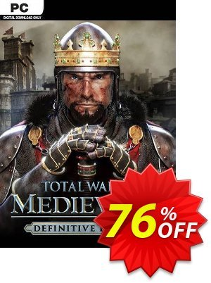 Total War: Medieval II  - Definitive Edition PC (EU) discount coupon Total War: Medieval II  - Definitive Edition PC (EU) Deal 2021 CDkeys - Total War: Medieval II  - Definitive Edition PC (EU) Exclusive Sale offer for iVoicesoft