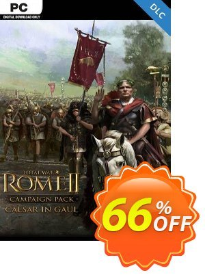 Total War: ROME II  - Caesar in Gaul Campaign Pack PC-DLC (EU) discount coupon Total War: ROME II  - Caesar in Gaul Campaign Pack PC-DLC (EU) Deal 2021 CDkeys - Total War: ROME II  - Caesar in Gaul Campaign Pack PC-DLC (EU) Exclusive Sale offer for iVoicesoft