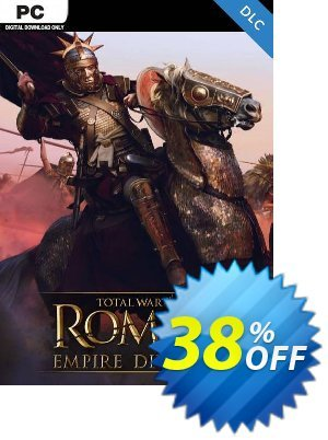 Total War: ROME II  - Empire Divided Campaign Pack PC-DLC discount coupon Total War: ROME II  - Empire Divided Campaign Pack PC-DLC Deal 2021 CDkeys - Total War: ROME II  - Empire Divided Campaign Pack PC-DLC Exclusive Sale offer for iVoicesoft