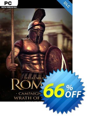 Total War: ROME II  - Wrath of Sparta Campaign Pack PC - DLC discount coupon Total War: ROME II  - Wrath of Sparta Campaign Pack PC - DLC Deal 2021 CDkeys - Total War: ROME II  - Wrath of Sparta Campaign Pack PC - DLC Exclusive Sale offer for iVoicesoft