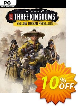 Total War: Three Kingdoms - Yellow Turban Rebellion PC - DLC (WW) discount coupon Total War: Three Kingdoms - Yellow Turban Rebellion PC - DLC (WW) Deal 2021 CDkeys - Total War: Three Kingdoms - Yellow Turban Rebellion PC - DLC (WW) Exclusive Sale offer for iVoicesoft