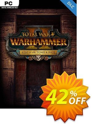 Total War: Warhammer II 2 PC - Rise of the Tomb Kings DLC (EU) discount coupon Total War: Warhammer II 2 PC - Rise of the Tomb Kings DLC (EU) Deal 2021 CDkeys - Total War: Warhammer II 2 PC - Rise of the Tomb Kings DLC (EU) Exclusive Sale offer for iVoicesoft