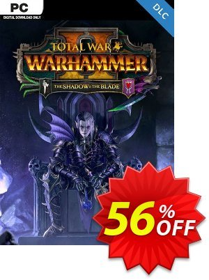 Total War WARHAMMER II 2 - The Shadow and The Blade DLC (EU) discount coupon Total War WARHAMMER II 2 - The Shadow and The Blade DLC (EU) Deal 2021 CDkeys - Total War WARHAMMER II 2 - The Shadow and The Blade DLC (EU) Exclusive Sale offer for iVoicesoft