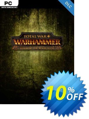 Total War Warhammer PC - Realm of the Wood Elves DLC (EU) discount coupon Total War Warhammer PC - Realm of the Wood Elves DLC (EU) Deal 2021 CDkeys - Total War Warhammer PC - Realm of the Wood Elves DLC (EU) Exclusive Sale offer for iVoicesoft