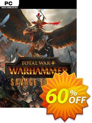 Total War: WARHAMMER- Savage Edition PC (EU) discount coupon Total War: WARHAMMER- Savage Edition PC (EU) Deal 2021 CDkeys - Total War: WARHAMMER- Savage Edition PC (EU) Exclusive Sale offer for iVoicesoft