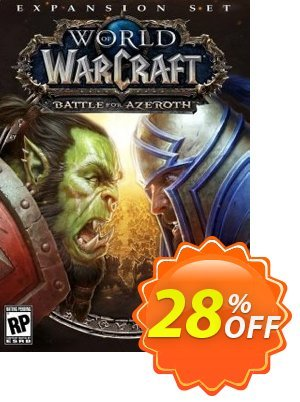 World of Warcraft (WoW) Battle for Azeroth (EU) Coupon, discount World of Warcraft (WoW) Battle for Azeroth (EU) Deal. Promotion: World of Warcraft (WoW) Battle for Azeroth (EU) Exclusive offer for iVoicesoft
