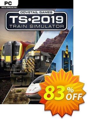 Train Simulator 2019 discount coupon Train Simulator 2019 Deal 2021 CDkeys - Train Simulator 2019 Exclusive Sale offer for iVoicesoft