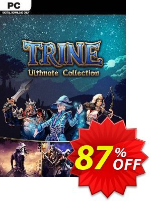 Trine: Ultimate Collection PC discount coupon Trine: Ultimate Collection PC Deal 2021 CDkeys - Trine: Ultimate Collection PC Exclusive Sale offer for iVoicesoft
