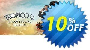 Tropico 4 PC discount coupon Tropico 4 PC Deal 2021 CDkeys - Tropico 4 PC Exclusive Sale offer for iVoicesoft