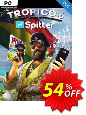 Tropico 6 - Spitter PC - DLC discount coupon Tropico 6 - Spitter PC - DLC Deal 2021 CDkeys - Tropico 6 - Spitter PC - DLC Exclusive Sale offer for iVoicesoft
