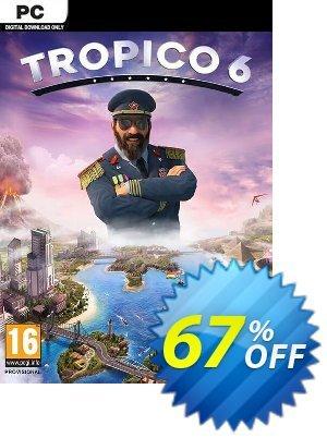 Tropico 6 PC discount coupon Tropico 6 PC Deal 2021 CDkeys - Tropico 6 PC Exclusive Sale offer for iVoicesoft