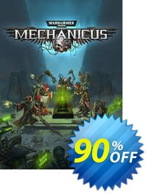 Warhammer 40,000: Mechanicus - Omnissiah Edition PC discount coupon Warhammer 40,000: Mechanicus - Omnissiah Edition PC Deal 2021 CDkeys - Warhammer 40,000: Mechanicus - Omnissiah Edition PC Exclusive Sale offer for iVoicesoft