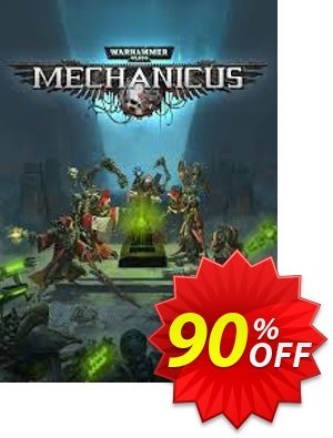 Warhammer 40,000: Mechanicus PC discount coupon Warhammer 40,000: Mechanicus PC Deal 2021 CDkeys - Warhammer 40,000: Mechanicus PC Exclusive Sale offer for iVoicesoft