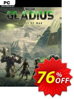 Warhammer 40,000: Gladius - Relics of War PC discount coupon Warhammer 40,000: Gladius - Relics of War PC Deal 2021 CDkeys - Warhammer 40,000: Gladius - Relics of War PC Exclusive Sale offer for iVoicesoft