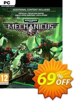 Warhammer 40,000: Mechanicus PC + Bonus Content discount coupon Warhammer 40,000: Mechanicus PC + Bonus Content Deal 2021 CDkeys - Warhammer 40,000: Mechanicus PC + Bonus Content Exclusive Sale offer for iVoicesoft