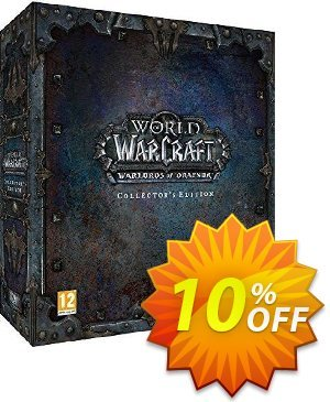 World of Warcraft (WoW): Warlords of Draenor - Collector's Edition PC/Mac discount coupon World of Warcraft (WoW): Warlords of Draenor - Collector's Edition PC/Mac Deal 2021 CDkeys - World of Warcraft (WoW): Warlords of Draenor - Collector's Edition PC/Mac Exclusive Sale offer for iVoicesoft