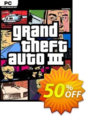 Grand Theft Auto III PC discount coupon Grand Theft Auto III PC Deal 2021 CDkeys - Grand Theft Auto III PC Exclusive Sale offer for iVoicesoft