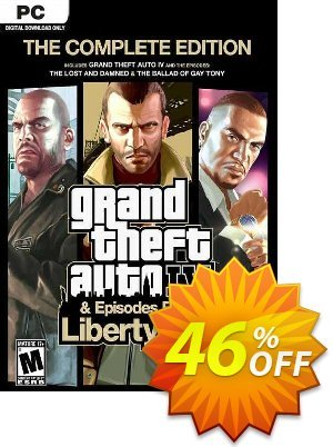 Grand Theft Auto IV: The Complete Edition PC (Rockstar) discount coupon Grand Theft Auto IV: The Complete Edition PC (Rockstar) Deal 2021 CDkeys - Grand Theft Auto IV: The Complete Edition PC (Rockstar) Exclusive Sale offer for iVoicesoft