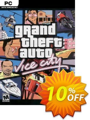 Grand Theft Auto: Vice City PC (Steam) discount coupon Grand Theft Auto: Vice City PC (Steam) Deal 2021 CDkeys - Grand Theft Auto: Vice City PC (Steam) Exclusive Sale offer for iVoicesoft