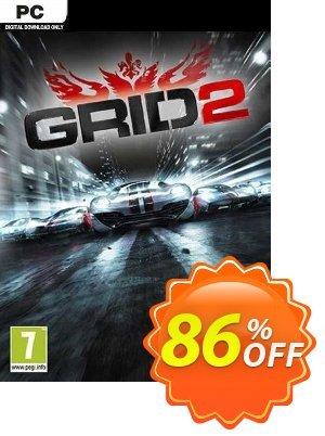 GRID 2 PC (EU) discount coupon GRID 2 PC (EU) Deal 2021 CDkeys - GRID 2 PC (EU) Exclusive Sale offer for iVoicesoft