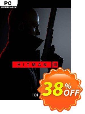 Hitman 3 PC discount coupon Hitman 3 PC Deal 2021 CDkeys - Hitman 3 PC Exclusive Sale offer for iVoicesoft