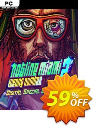 Hotline Miami 2: Wrong Number - Digital Special Edition PC discount coupon Hotline Miami 2: Wrong Number - Digital Special Edition PC Deal 2021 CDkeys - Hotline Miami 2: Wrong Number - Digital Special Edition PC Exclusive Sale offer for iVoicesoft