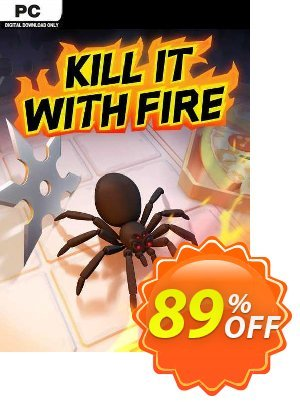 Kill It With Fire PC discount coupon Kill It With Fire PC Deal 2021 CDkeys - Kill It With Fire PC Exclusive Sale offer for iVoicesoft