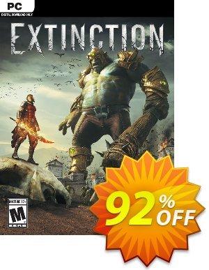 Extinction PC 프로모션 코드 Extinction PC Deal 프로모션: Extinction PC Exclusive offer for iVoicesoft