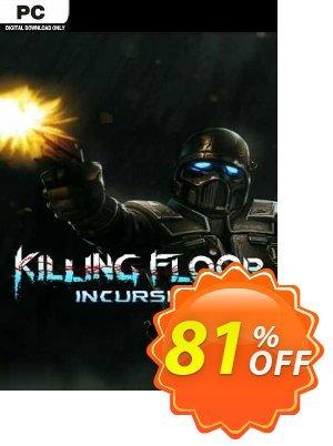 Killing Floor Incursion PC discount coupon Killing Floor Incursion PC Deal 2021 CDkeys - Killing Floor Incursion PC Exclusive Sale offer for iVoicesoft