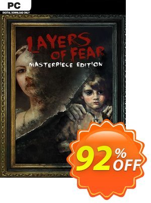 Layers of Fear -  Masterpiece Edition PC discount coupon Layers of Fear -  Masterpiece Edition PC Deal 2021 CDkeys - Layers of Fear -  Masterpiece Edition PC Exclusive Sale offer for iVoicesoft
