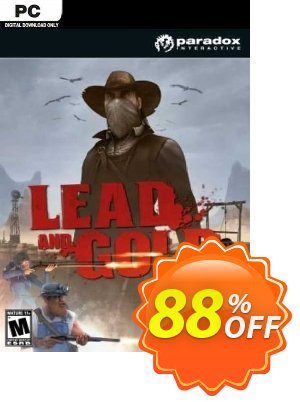 Lead and Gold: Gangs of the Wild West PC 優惠券,折扣碼 Lead and Gold: Gangs of the Wild West PC Deal 2021 CDkeys,促銷代碼: Lead and Gold: Gangs of the Wild West PC Exclusive Sale offer for iVoicesoft