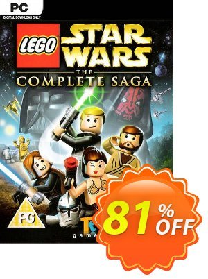 LEGO Star Wars - The Complete Saga PC discount coupon LEGO Star Wars - The Complete Saga PC Deal 2021 CDkeys - LEGO Star Wars - The Complete Saga PC Exclusive Sale offer for iVoicesoft