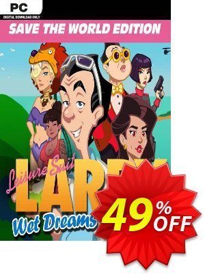 Leisure Suit Larry - Wet Dreams Dry Twice: Save the World Edition PC discount coupon Leisure Suit Larry - Wet Dreams Dry Twice: Save the World Edition PC Deal 2021 CDkeys - Leisure Suit Larry - Wet Dreams Dry Twice: Save the World Edition PC Exclusive Sale offer for iVoicesoft