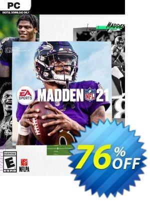 Madden NFL 21 PC (EN) discount coupon Madden NFL 21 PC (EN) Deal 2021 CDkeys - Madden NFL 21 PC (EN) Exclusive Sale offer for iVoicesoft
