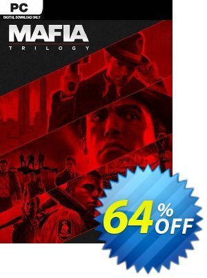 Mafia Trilogy PC (EU) discount coupon Mafia Trilogy PC (EU) Deal 2021 CDkeys - Mafia Trilogy PC (EU) Exclusive Sale offer for iVoicesoft