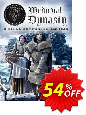 Medieval Dynasty Digital Supporter Edition PC discount coupon Medieval Dynasty Digital Supporter Edition PC Deal 2021 CDkeys - Medieval Dynasty Digital Supporter Edition PC Exclusive Sale offer for iVoicesoft