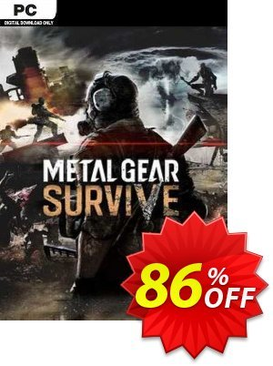 Metal Gear Survive PC discount coupon Metal Gear Survive PC Deal 2021 CDkeys - Metal Gear Survive PC Exclusive Sale offer for iVoicesoft